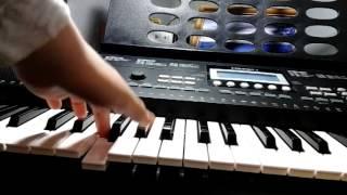 Слышь, ты чё такая дерзкая а /как играть на пианино(видеоурок)