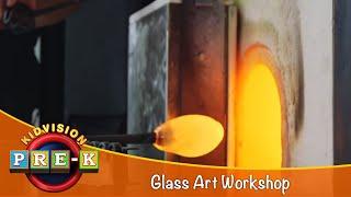 KidVision Pre-K Glass Art Field Trip
