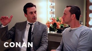 Jon Hamm Ponders Exciting New Film Role - CONAN on TBS