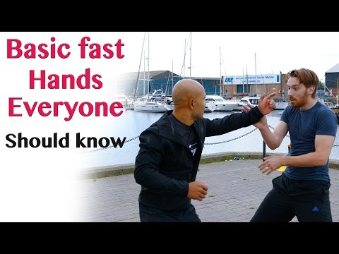 Basic fast hands everyone should know   wing chun