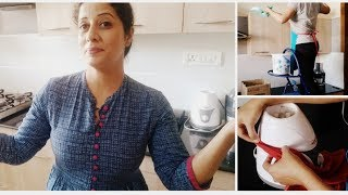 How To Do Indian Kitchen Deep Cleaning  Diwali Cleaning  Kitchen Tour