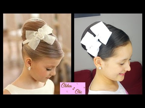 elegant-high-chignon- -prom-hairstyles- -cute-girly-hairstyles