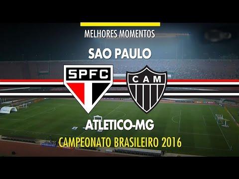 Melhores Momentos - São Paulo 1 x 2 Atlético-MG - Brasileirão - 04/08/2016