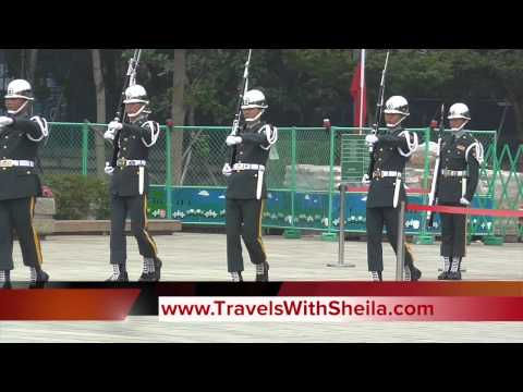 Hourly Changing of Guard at Martyrs' Shrine, Taipei