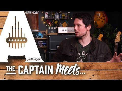 The Captain Meets UK Blues guitarist Aynsley Lister