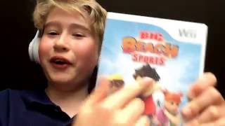 Big Beach sports gameplay  |  Wii