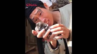 Hài troll ngu đường phố Trung Quốc, China - Can't stop laughing P 126 Hài troll china