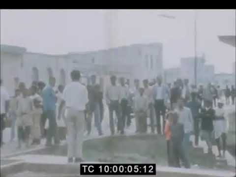 Ethiopia History: September 1974 First film of overthrow of Emperor Haile Selassie