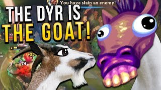 THE DYR IS THE GOAT!!!! FT THE HORSE | TOP DYR VS YASUO - Trick2G
