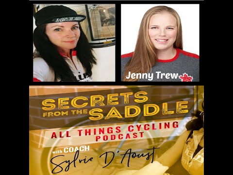 51. Meet JENNY TREW ex-racer turned coach and developing one of the strongest woman's race team