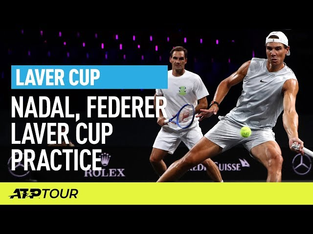 Federer, Nadal, Zverev, Fognini Practice | Laver Cup | ATP