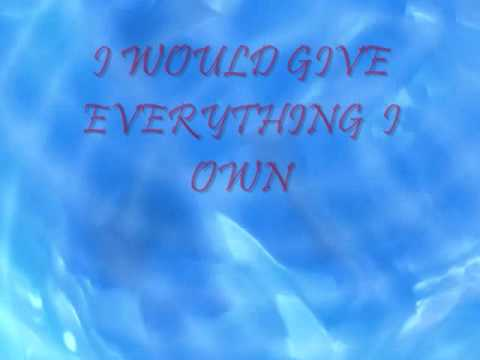 EVERYTHING I OWN - CULTURE CLUB