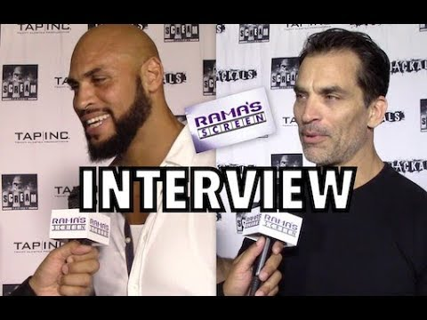 My 'JACKALS' Red Carpet Interviews with Jason Scott Jenkins and Johnathon Schaech