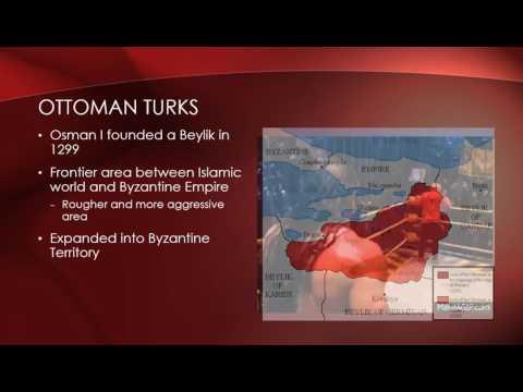 UGC 112 - Lecture 10 The Ottoman Empire
