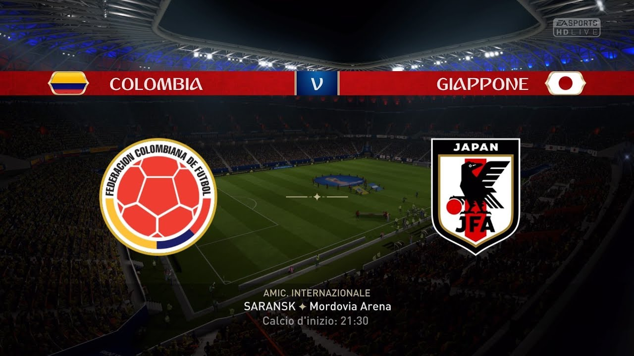 COLOMBIA VS JAPAN   FIFA World Cup 2018 Predict   19/6/2018 - Pirelli7