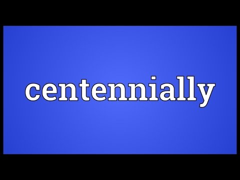 Header of centennially