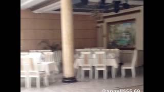 Грифельная фотозона на свадьбе.