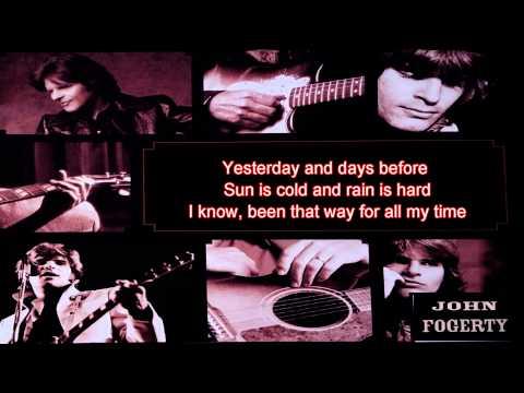 Have You Ever Seen The Rain - John Fogerty - Lyrics/HD