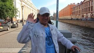 Санкт-Петербург. Летняя прогулка.