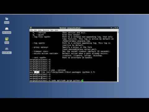 How to install/uninstall pip in Linux (Debian, Ubuntu, etc)
