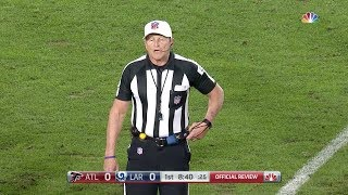 Ed Hochuli Gives Al Michaels and Cris Collinsworth a Test of Patience