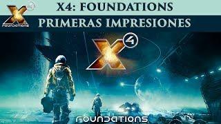 Empiezo hablando de un sorteo que hice, el vídeo empieza realmente en 6:26 En el gameplay en español de X4 Foundations doy mis primeras impresiones ...