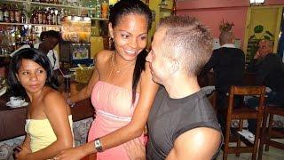 Вечерняя пьянка Кубинцев Русских и Белорусов на Кубе
