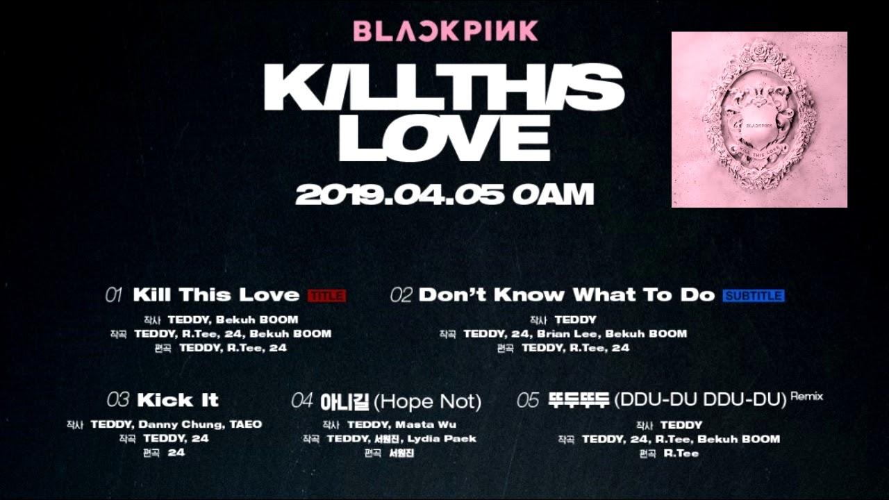 Mini Album Blackpink Kill This Love Mp3 Itunes Plus Aac M4a