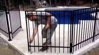 barriere piscine brico depot. Black Bedroom Furniture Sets. Home Design Ideas