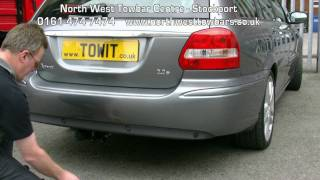 Towbar Video Jaguar X Type Witter Quantum Detachable