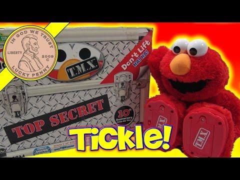 Fisher Price Tickle Me Elmo Top Secret T.M.X. 10th Anniversary Kids Plush Toy