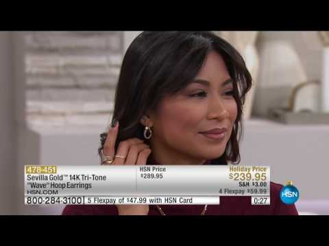 HSN | Sevilla Gold Jewelry 11.08.2016 - 02 AM