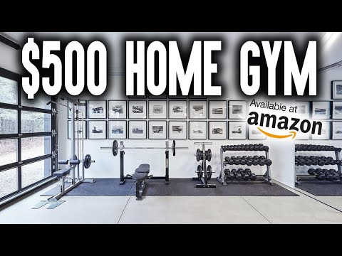 How to BUILD a $500 HOME GYM on AMAZON