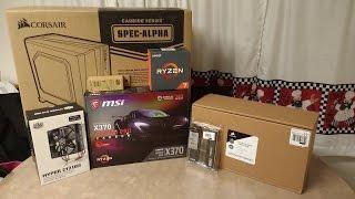 Ryzen 1700X Build Time lapse
