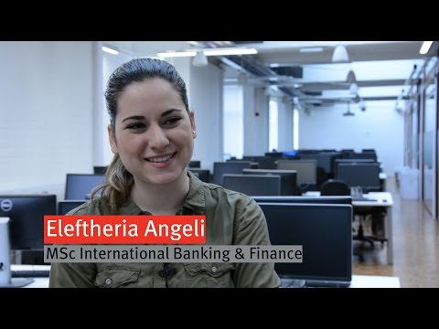MSc International Banking and Finance at Strathclyde University
