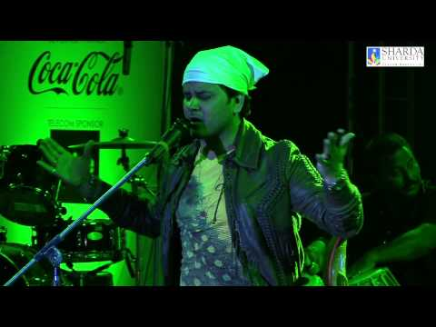 Kun Faya Kun Song Performance By Javed Ali | Sharda University Annual Fest