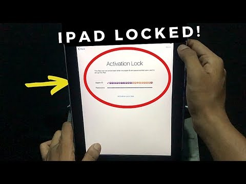 iPad iCloud Activation Lock Removal 2019 without Bypass