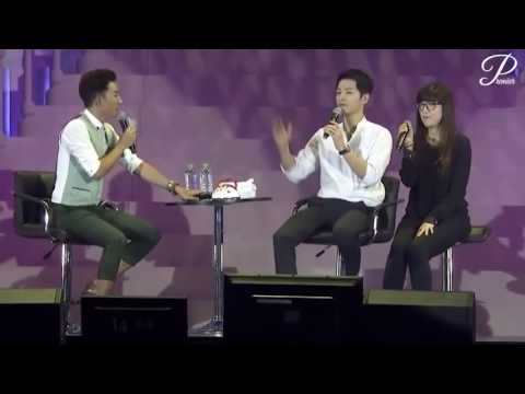 Song jung ki in China fan meeting with a lie detector