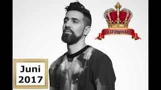 TOP 20 Deutschrap Album Charts   Juni 2017
