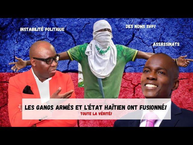 Dr JFA: Les gangs armés et l'État haïtien ont fusionné! Toute la vérité ! JFA donne des noms!