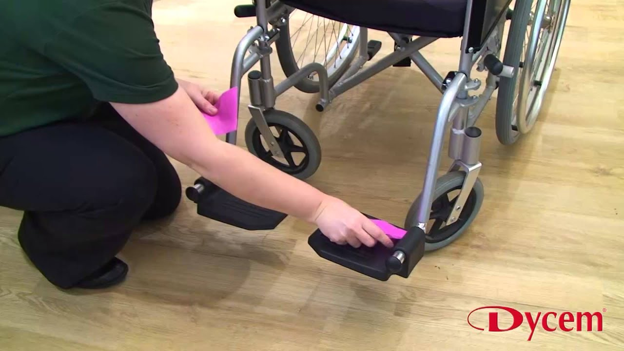 How To Use Dycem Non Slip Reel Material On Furniture Wheelchairs
