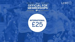 2020/21 International Memberships | Leicester City