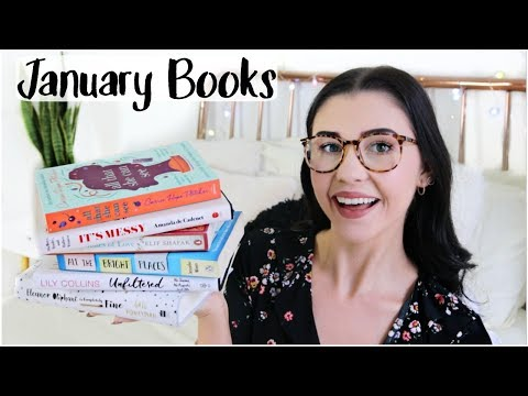 Book Haul - Reading List January 2018 (& BOOK CLUB)