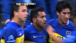 gol de tevez boca 1 rafaela 0 fecha 9 primera divisin 2016