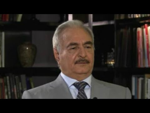 EXCLUSIVE - Interview with Libya's military strongman Khalifa Haftar