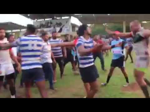 Namal And Yoshitha Rajapaksa Involving Fight Between Rugby Match