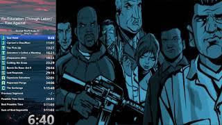 Grand Theft Auto III Any% Speedrun in 1:14:19