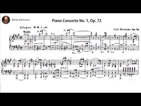 Carl Reinecke Piano Concerto No 1 In F Sharp Minor Op 72 1860