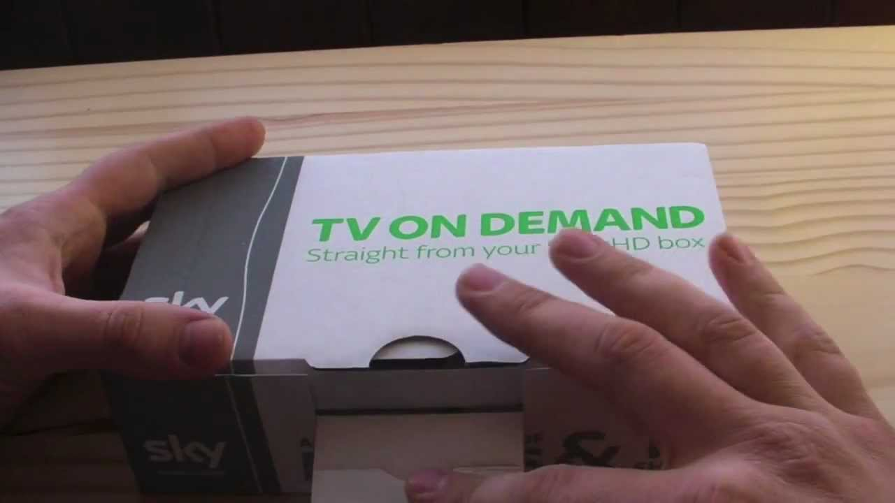 Unboxing Of The Sky On Demand WiFi Wireless Connector