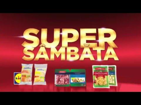 Super Sambata la Lidl • 6 Februarie 2016